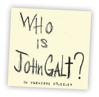 Who is John Galt? Post-its